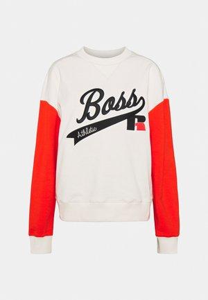 Boss x Russell Athletic ERAISA  - Sweatshirt - soft cream