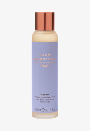 GROW GORGEOUS REPAIR HEAT PROTECTION LEAVE-IN OIL  - Hair treatment - -