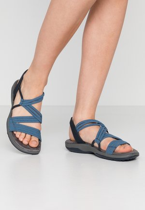 REGGAE SLIM - Walking sandals - navy