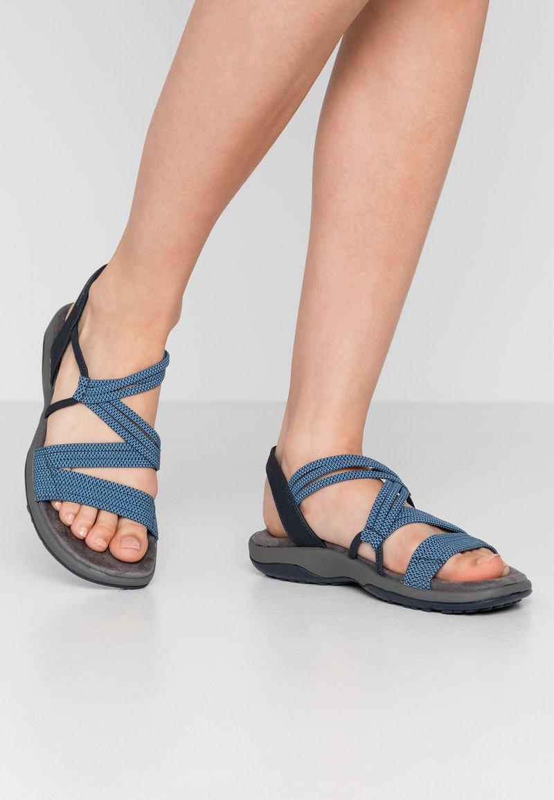 Skechers - REGGAE SLIM - Walking sandals - navy
