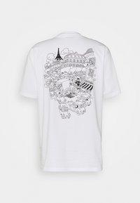 Carhartt WIP - PICNIC IN PARIS - Print T-shirt - white - 1
