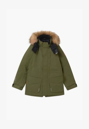 NAAPURI UNISEX  - Winter coat - khaki green