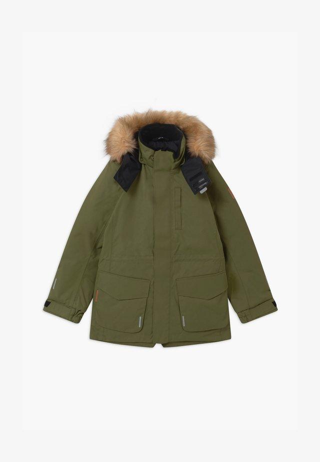 NAAPURI UNISEX  - Cappotto invernale - khaki green