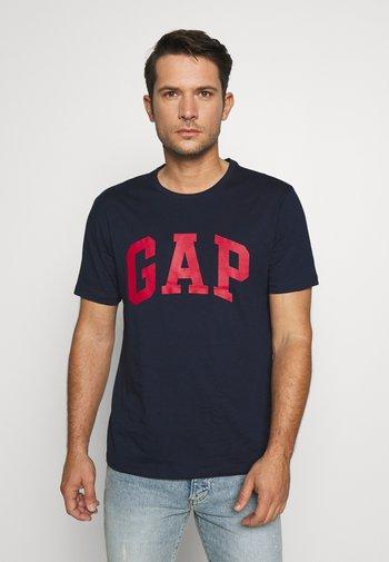 BASIC LOGO - Print T-shirt - tapestry navy