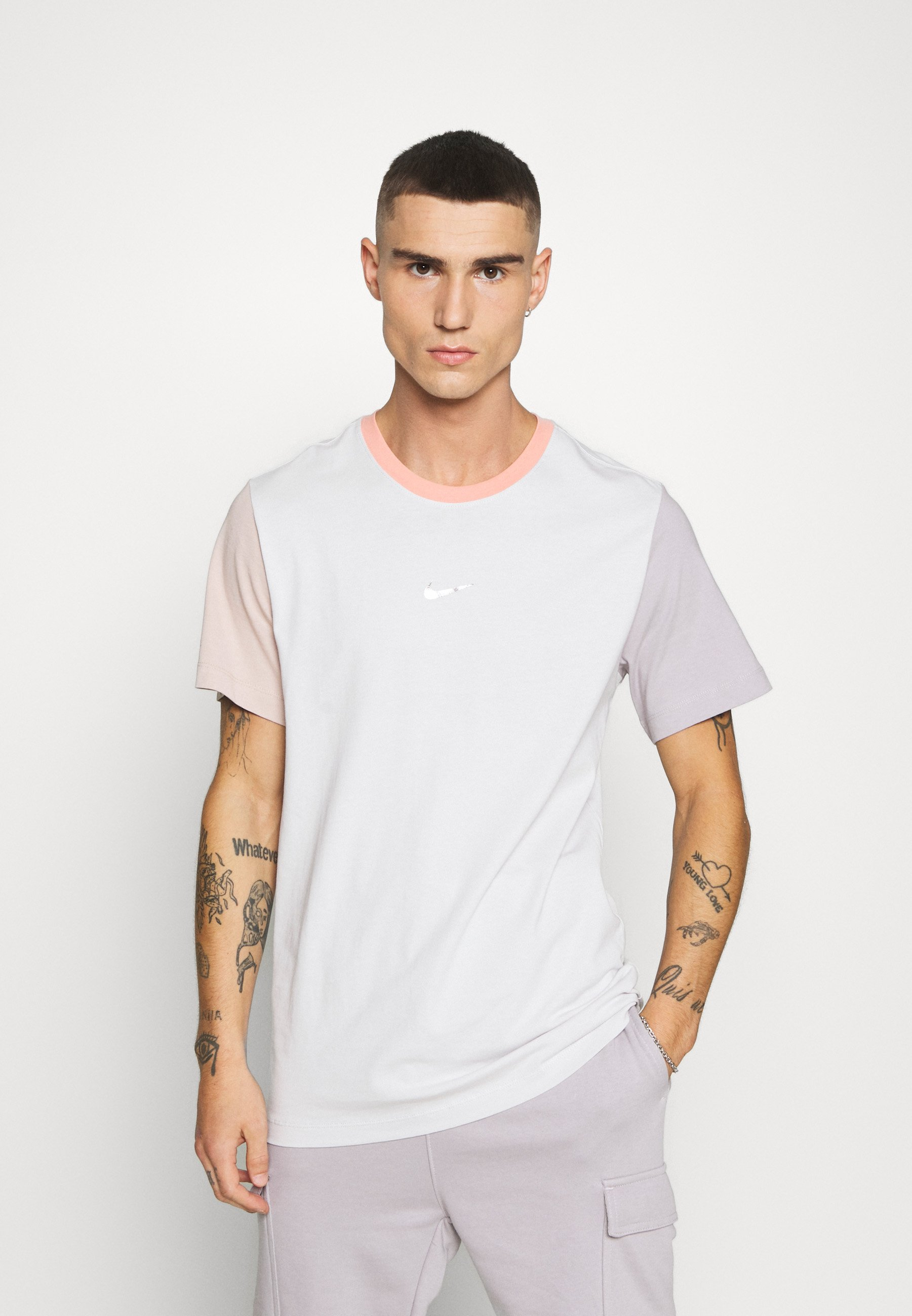 rame aereo Pulsare  Nike Sportswear TEE - Print T-shirt - vast grey/grey - Zalando.co.uk