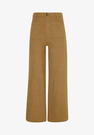 SAILOR PANT - Trousers - tobacco