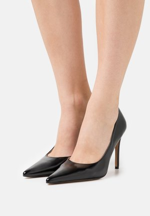 SIDE CUT - Classic heels - jet black