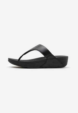 LULU - Sandaler m/ tåsplit - black