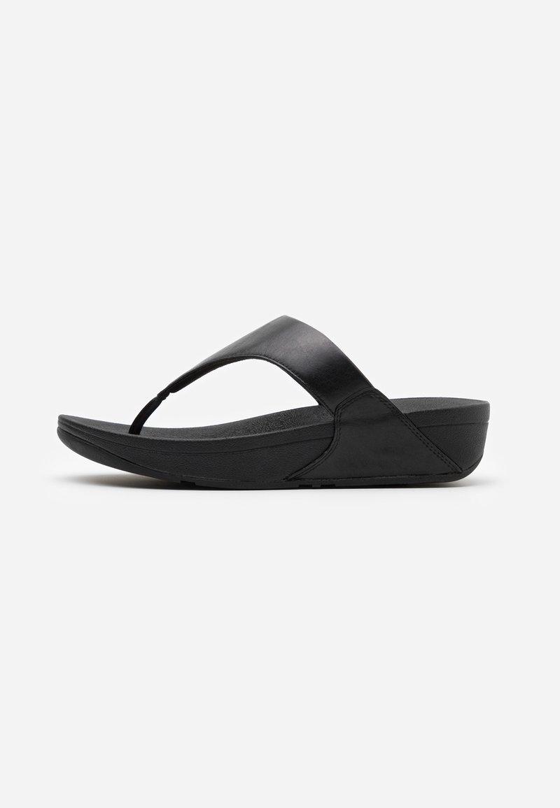 FitFlop - LULU - Sandály s odděleným palcem - black
