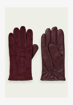 Gloves - fire brick