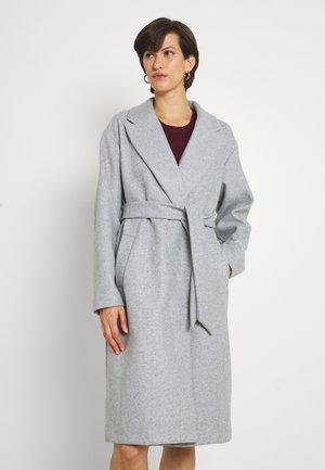 VMFORTUNE LONG JACKET - Klasyczny płaszcz - light grey melange