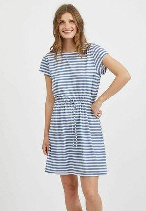 VIMOONEY STRING DRESS - Vestito di maglina - colony blue
