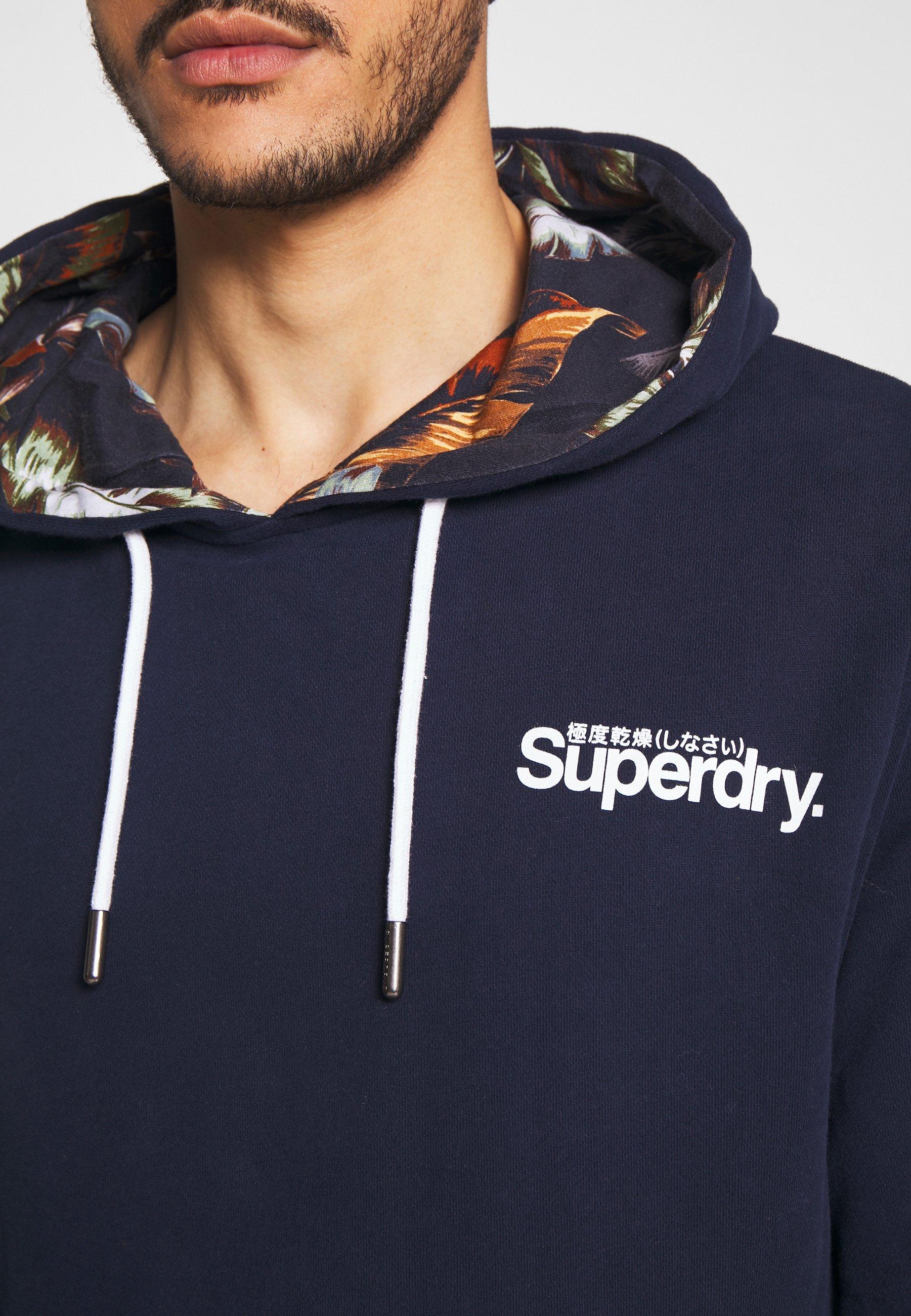 Superdry Sweat à capuche - rich navy