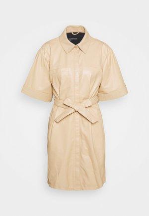 BREAK - Shirt dress - light beige