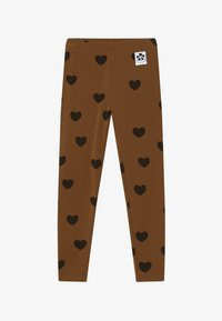 Mini Rodini - HEARTS - Leggings - Trousers - brown - 2