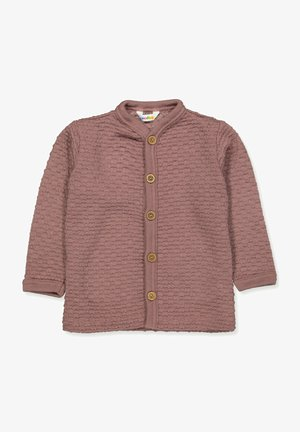 BUBBLE, WOLLE, ALTROSA - Cardigan - altrosa