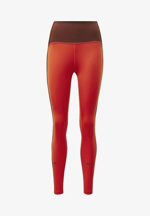 STUDIO LUX PERFORM LEGGINGS - Tights - red