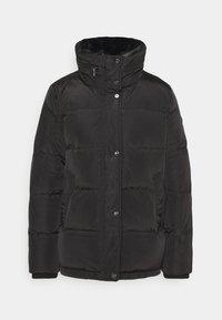 Lauren Ralph Lauren - IRIDESCENT SHORT - Down jacket - black - 0