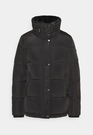 IRIDESCENT SHORT - Down jacket - black