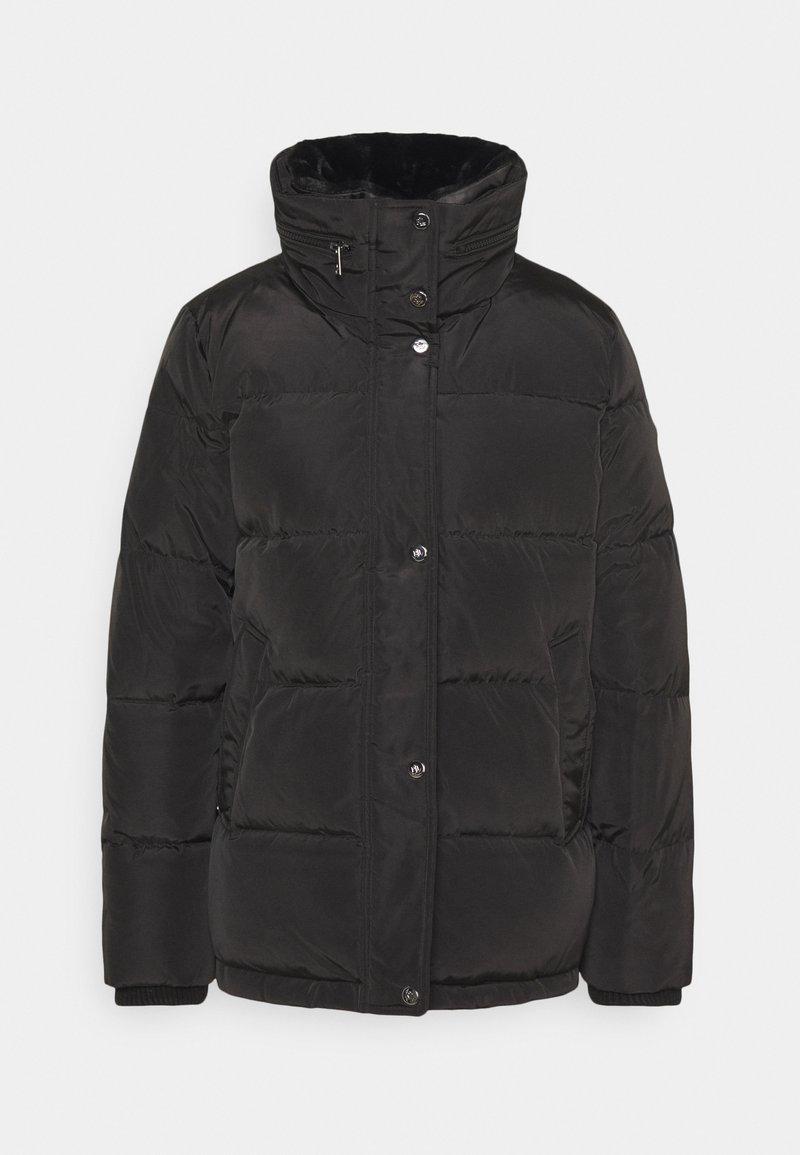 Lauren Ralph Lauren - IRIDESCENT SHORT - Down jacket - black