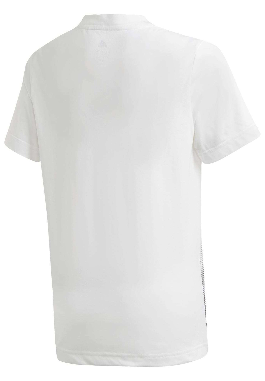 adidas Infant Graphic T Shirt, t skjorte barn Hvit