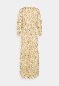 YAS - YASLAGI 3/4 ANKLE DRESS - Maxi dress - humus - 1