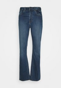 FORGED PANTS - Outdoor trousers - blue denim