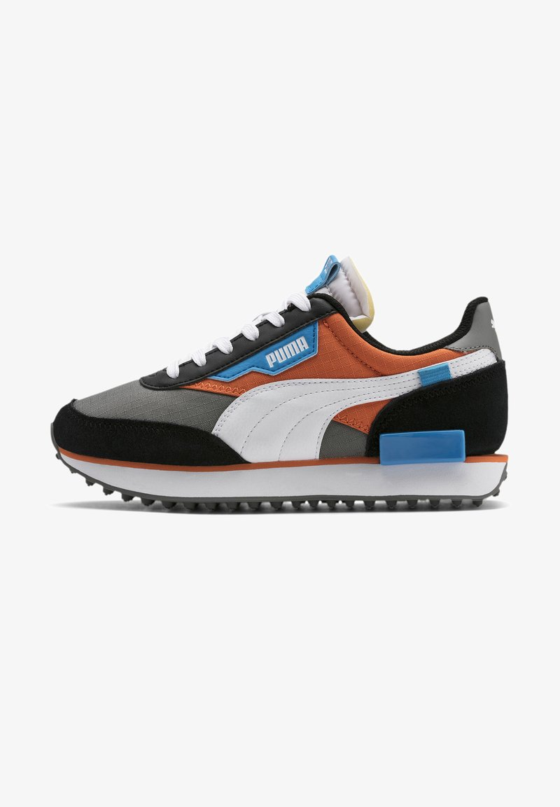 Puma - FUTURE RIDER PLAY ON YOUTH - Trainers - ultra gray-white- black