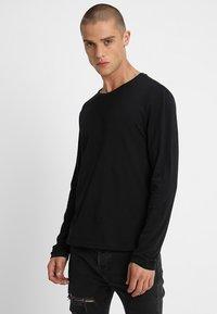 YOURTURN - 2 PACK - Long sleeved top - black - 1