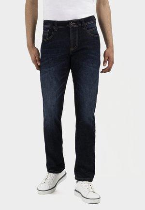 Slim fit jeans - dark blue denim