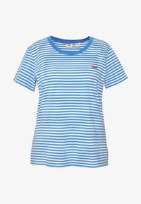 Levi's® Plus - PERFECT CREW - T-shirts med print - blue - 3