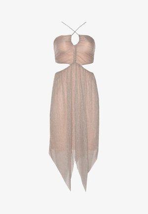 Cocktail dress / Party dress - beige
