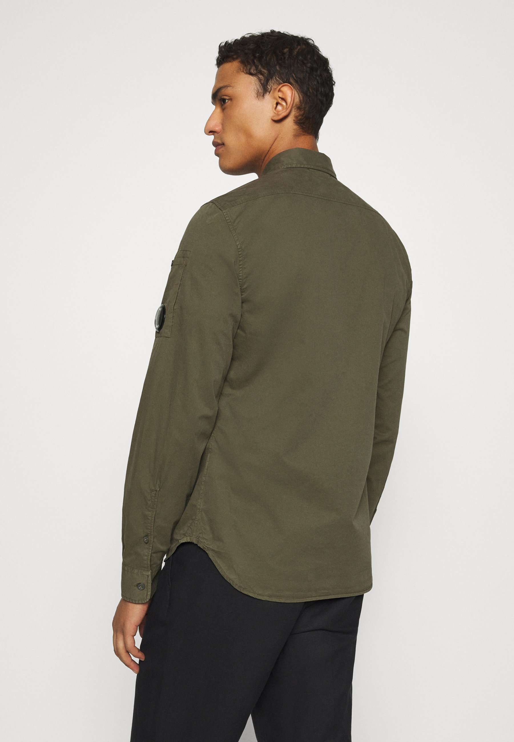 C.p. Company Long Sleeve - Hemd Ivy Green