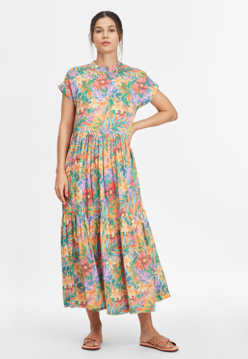 O'Neill - Maxi dress - yellow with red