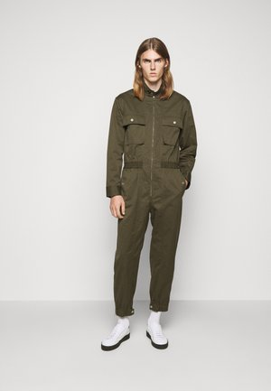 UTILITY JUMPSUIT - Overal - olive twill