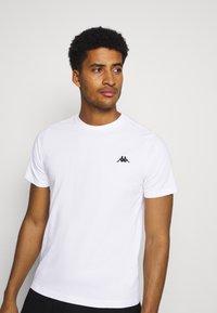 Kappa - ILJAMOR - Camiseta básica - bright white - 3