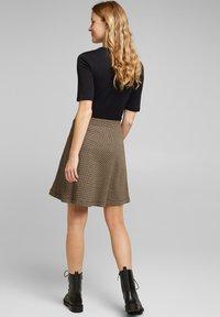 Esprit - FLARED  - A-line skirt - camel - 2