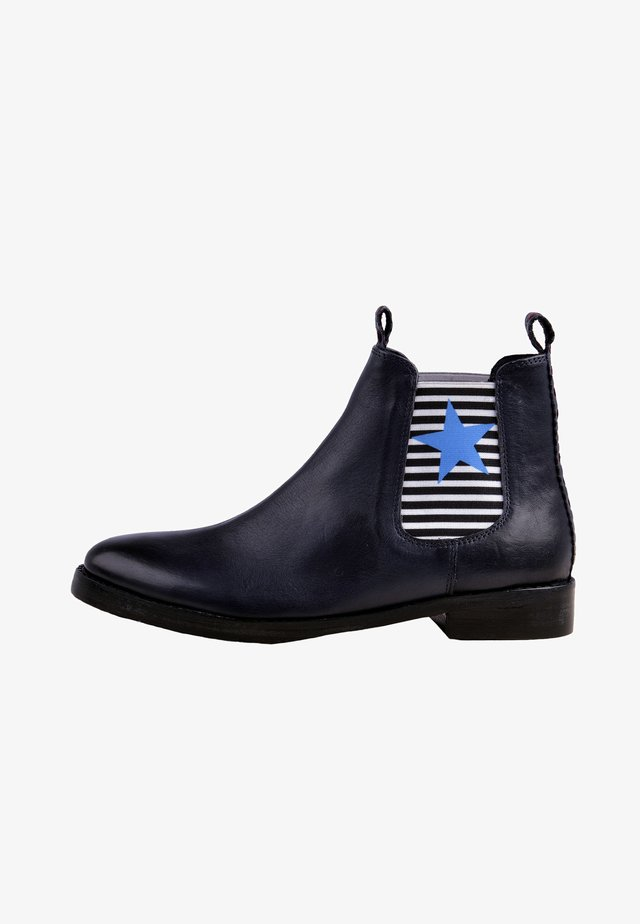 CHELSEA BOOT JULIA - Ankle boots - blue