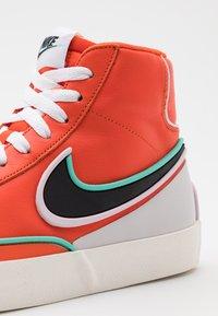 Nike Sportswear - BLAZER MID '77 INFINITE - Sneakers hoog - team orange/baroque brown/arctic pink - 7