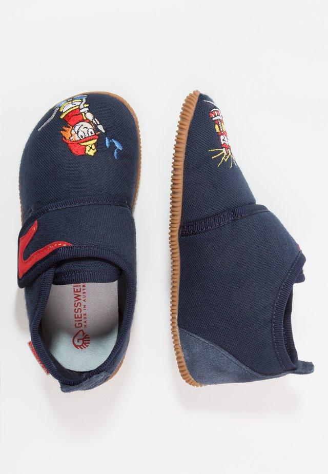 SERFAUS SLIM FIT - Pantoffels - bleu foncé