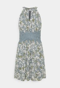 Vila - VIMILINA FLOWER DRESS - Cocktail dress / Party dress - ashley blue/white - 3