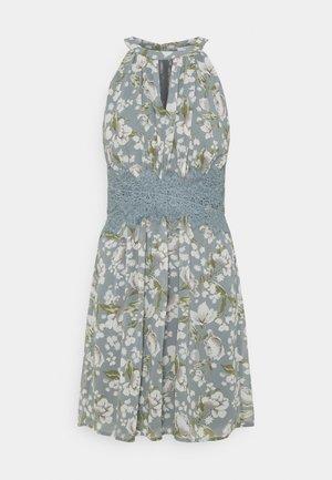 VIMILINA FLOWER DRESS - Cocktail dress / Party dress - ashley blue/white