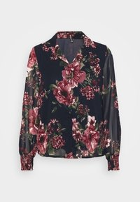 Vero Moda - VMNEWSUNILLA - Button-down blouse - navy blazer - 3