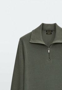 Massimo Dutti - Pullover - khaki - 4