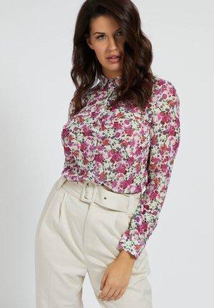 CLOUIS  - Button-down blouse - mehrfarbe rose