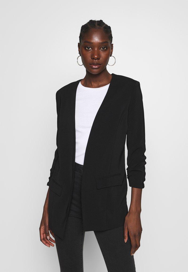 mbyM - WERONKA - Halflange jas - black