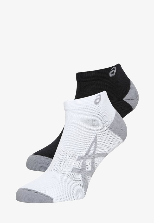 2 PACK - Ankelsockor - real white