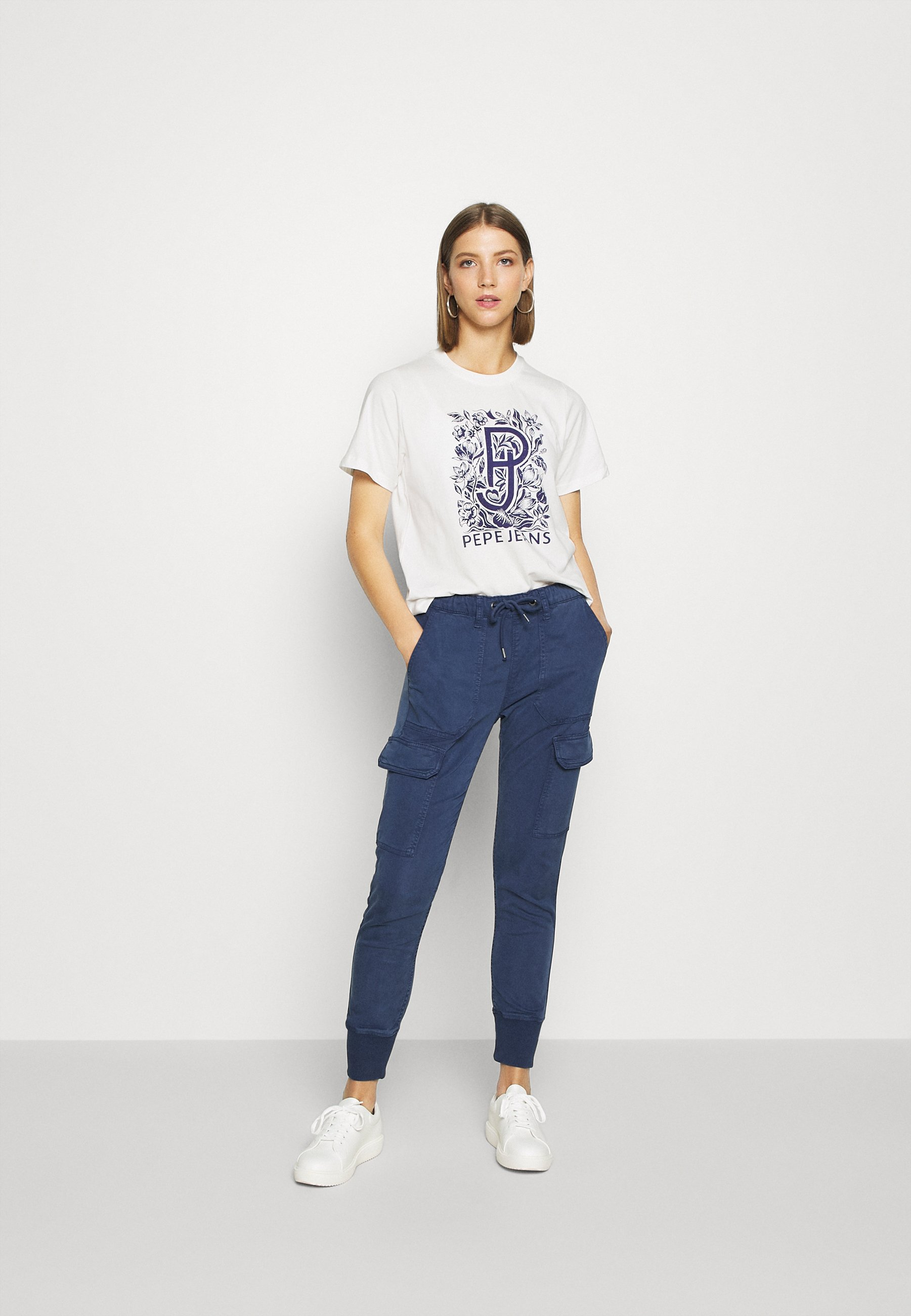 Pepe Jeans Alissa - T-shirts Med Print Mousse
