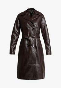 Dorothy Perkins - CROC - Trench - choc - 4