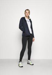adidas Performance - TERREX TECH LITE HOODED - Fleece jacket - legend ink - 1